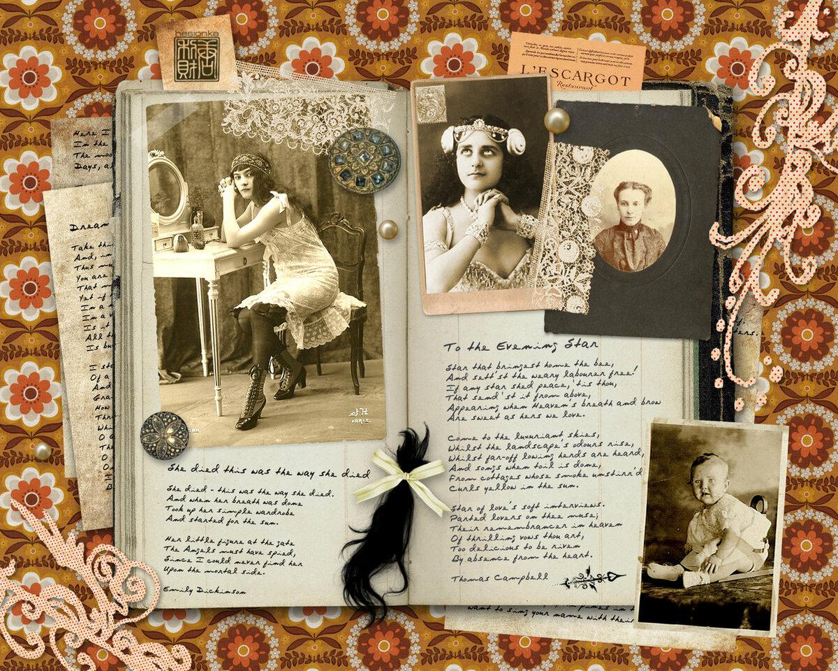 История скрапбукинга картинки