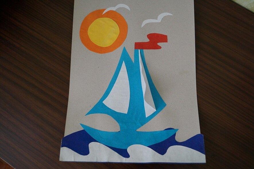 Открытка кораблик для детей, эмоций открытки день