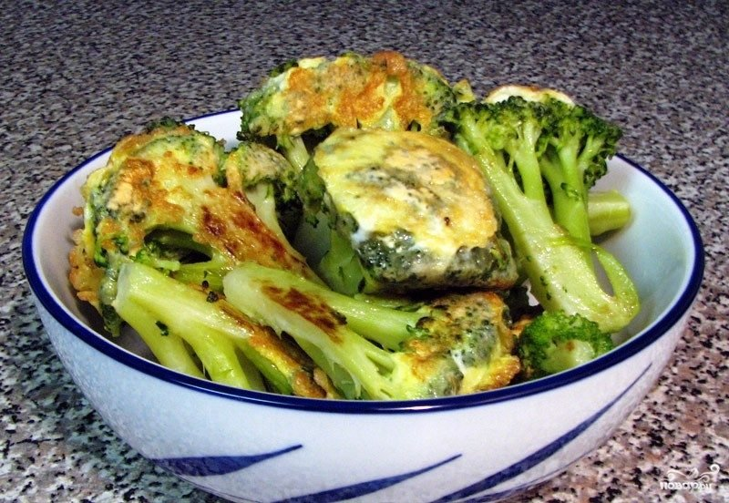 рецепт жареной капусты брокколи