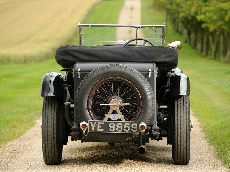 Bentley 6 ½ Litre Sports Tourer by Vanden Plas