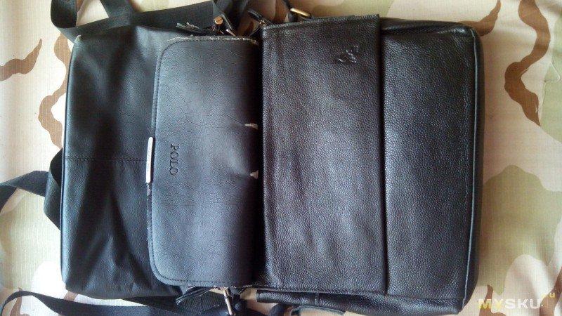 Итак, речь пойдет о качественной сумке, купленной на ebay, у продавца из Израиля, но начну обзор с старой сумки, которую купил пол года тому в Китае — сумку с логотипом ...