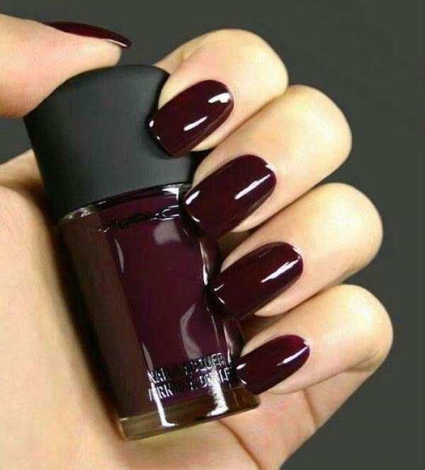 Дизайн ногтей тёмные