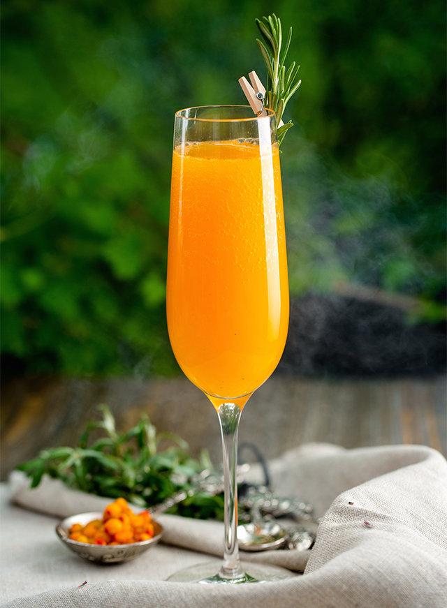 """""""Беллини"""" - простой и вкусный рецепт коктейля на основе шампанского"""