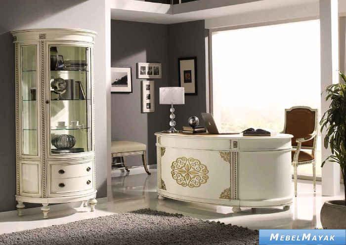 мебель для кабинета в стиле бороко