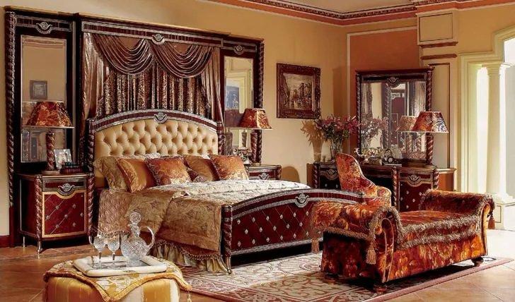 Мебель в стиле ампир привлекательна своей притягательной роскошью