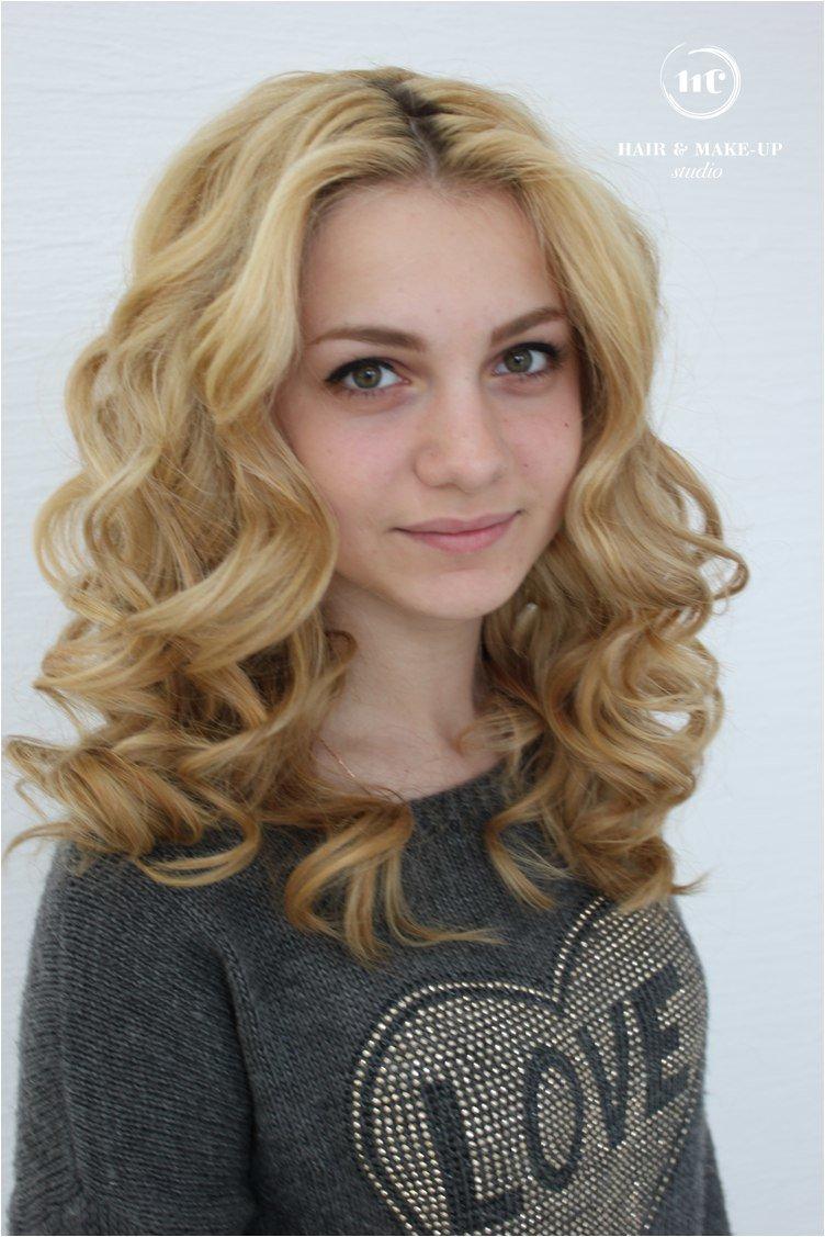 Как сделать кудри на среднюю длину волос фото 673