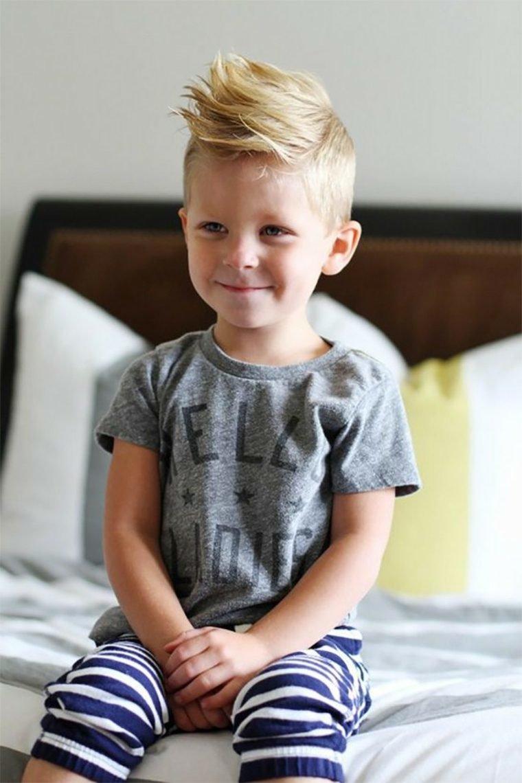 Модная детская стрижка канадка для мальчиков 2016