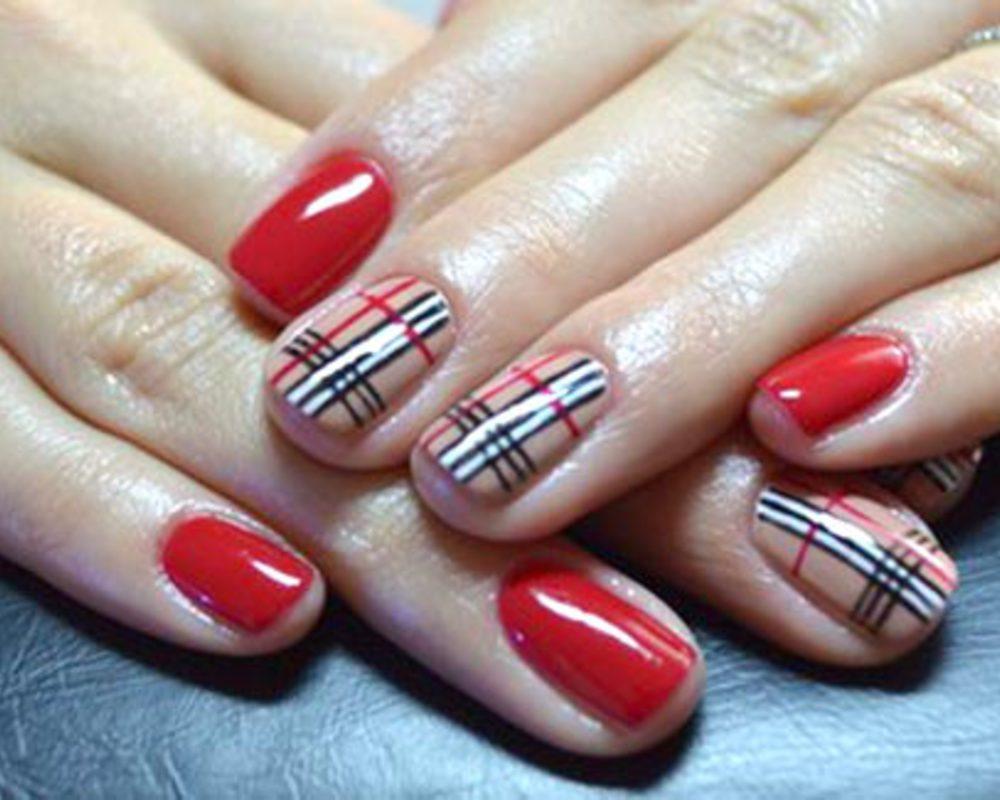 рисунки на коротких ногтях фото гель лаком