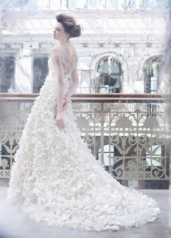 Роскошное свадебные платья от Lazaro