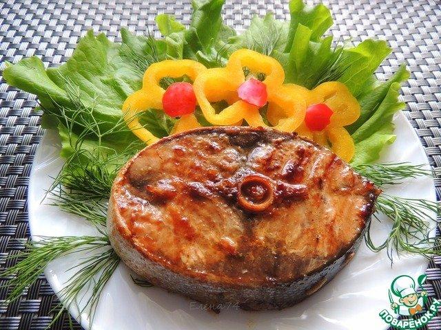 Тунец в остро-сладком маринаде