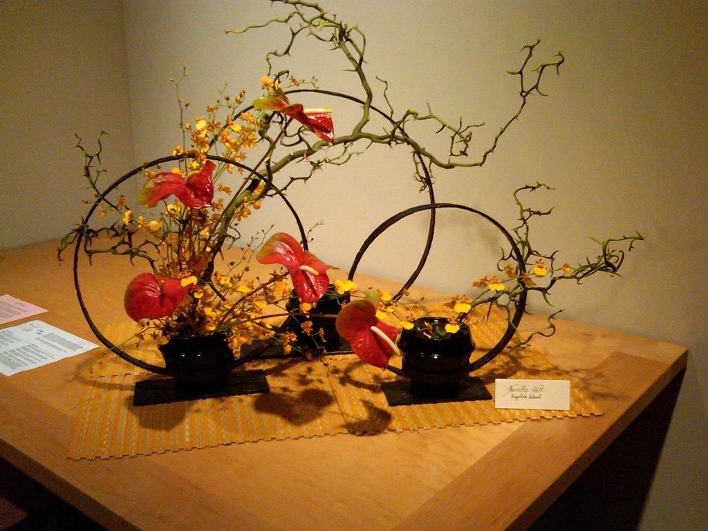 Как называется японское искусство составления букетов