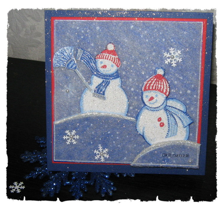Из салфеток открытки новогодние, открытки холмарк