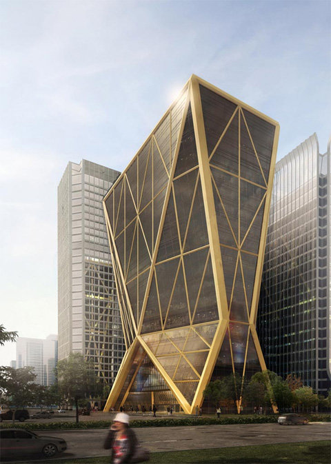 Citic Bank, Headquarters, Hangzhou, China, 2009, Project