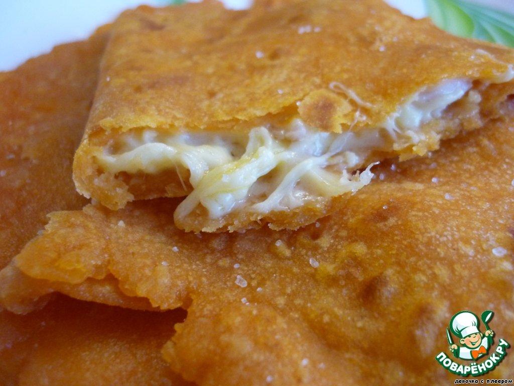 Томатные лепешки с сыром рецепт