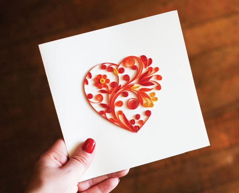 Как сделать валентинку картинку сердце