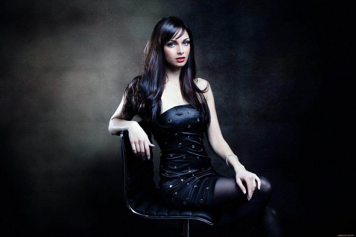a9ee0a1b20f7fec Брюнетка в черном платье.» — карточка пользователя lady.m ...