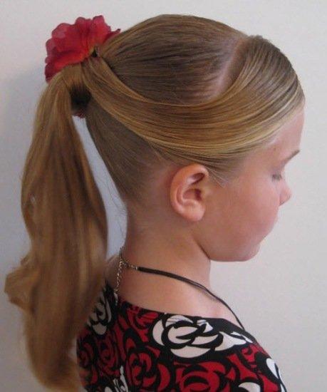 Красивые прически в школу на средние волосы