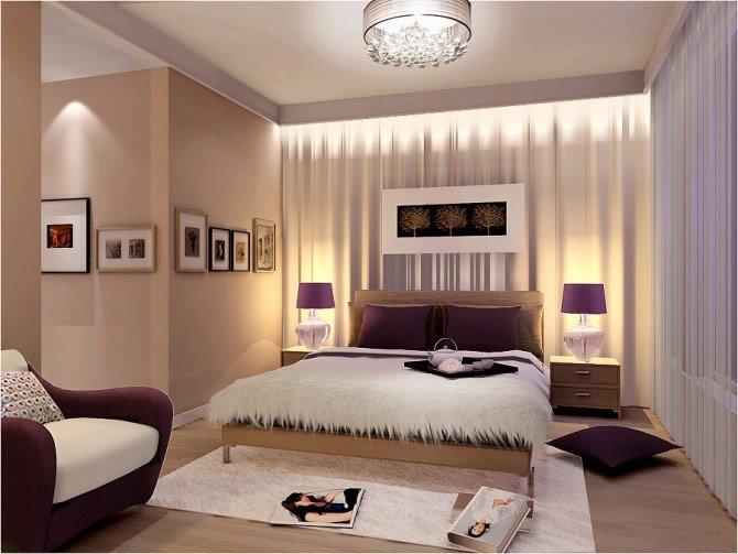 спальня кровать у окна дизайн карточка пользователя Natysay24 в