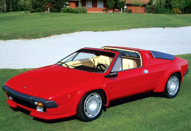 1982 Lamborghini Jalpa P350 - характеристики, фото, цена.
