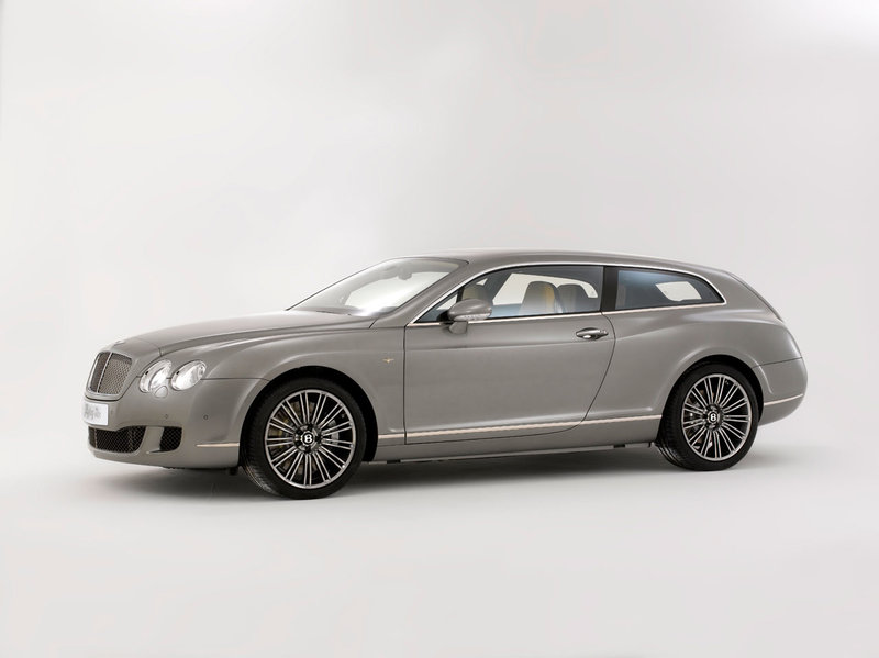 2010 Bentley Continental Flying Star (Touring) - Студии