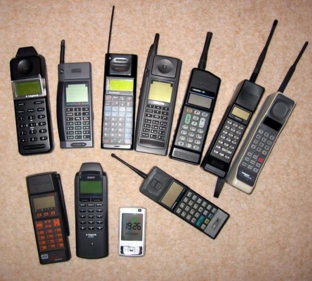Фото старых мобилок