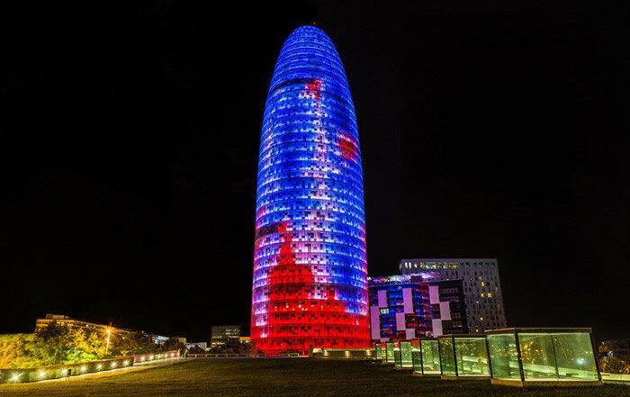 Башня Агбар - Путеводитель Барселона ТМ