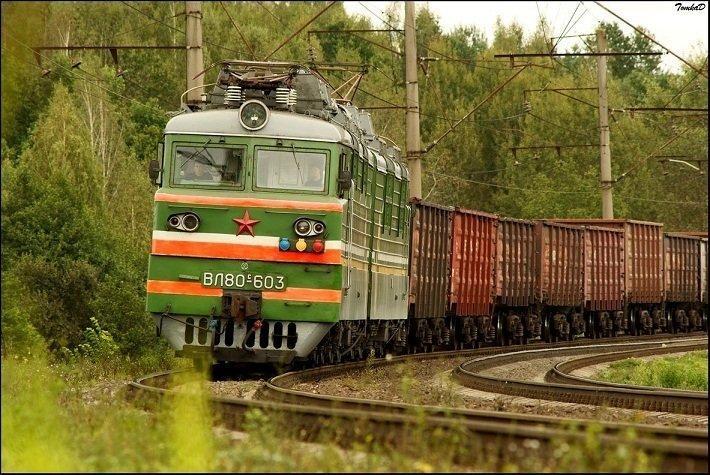 Белорусский ферроэквинолог показал фотосессию железной дороги, сделанную с вышки ЛЭП - Люди onliner.by