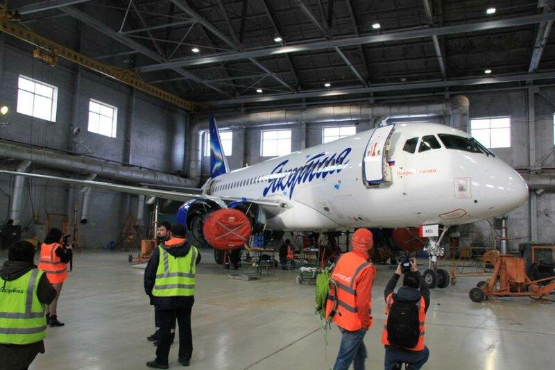 Блог-тур в аэропорт Якутск (фото)