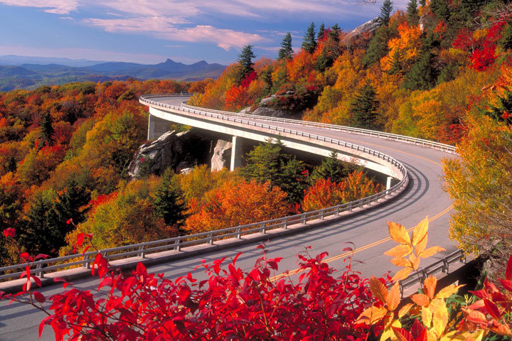 Blue Ridge Parkway, Северная Калифорния, США