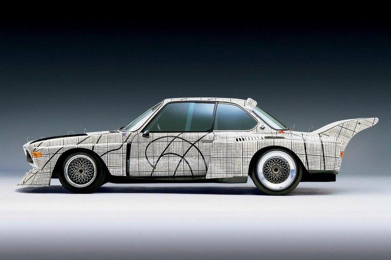 BMW 3.0 CSL Art Car Фрэнка Стеллы
