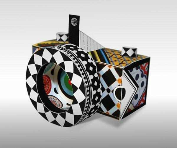 Бумажные фотоаппараты