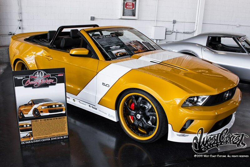 Darrell Gwynn Foundation Mustang | 11 фотографий