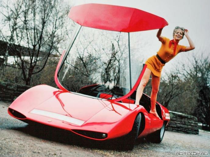 Fiat 2000 Abarth Scorpione- единственный в мире (фото, видео)