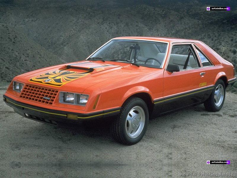 Ford Mustang - Третье поколение (1979-1993)