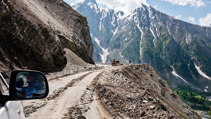 Фото-путешествие по самой опасной дороге в Индии