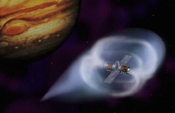 Генератор магнитного поля в космосе