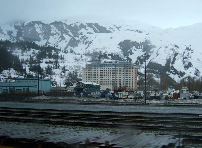 Город Уиттиер, Аляска