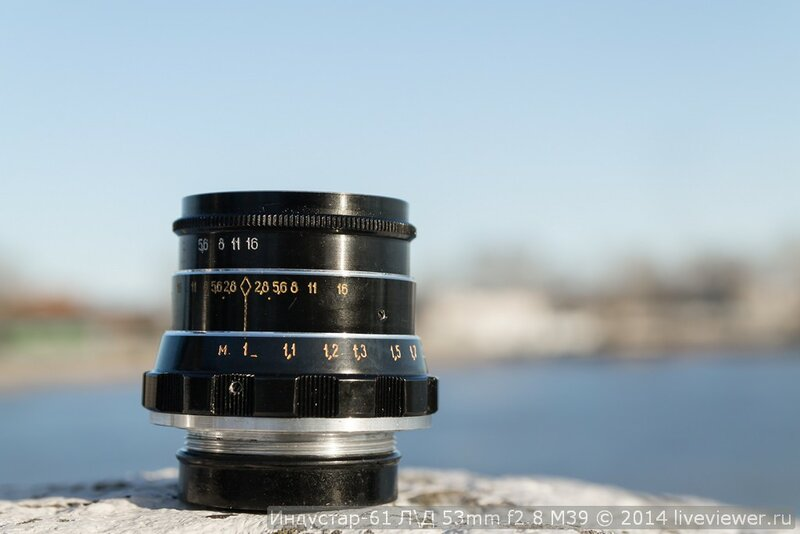 Индустар-61 Л/Д 53mm f2.8 m39 (1991) | Фотолюбитель