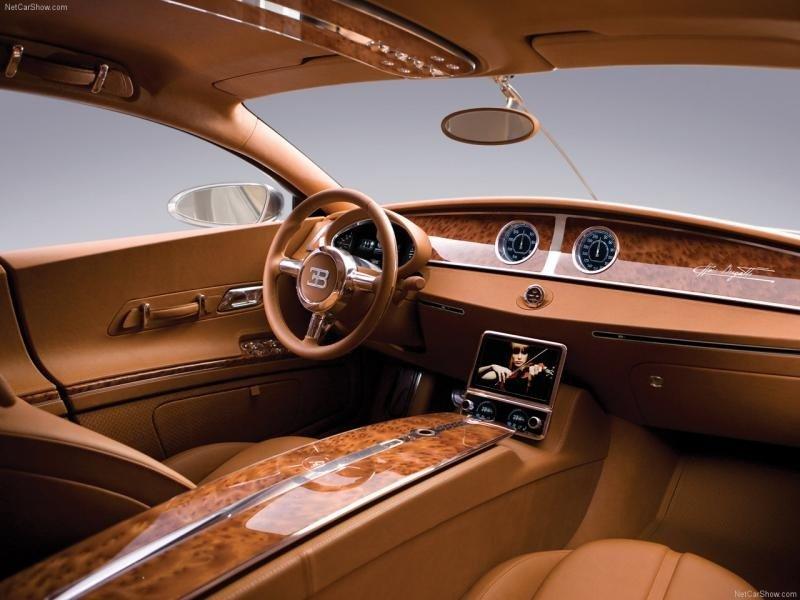 Интерьер Bugatti Galibier