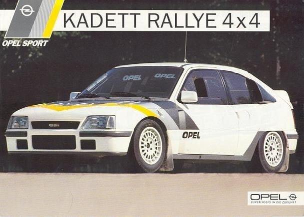 Kadett GSi 4x4 - Прототип для Группы Б