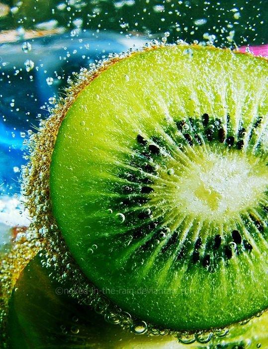 Как фотографировать фрукты с пузырями
