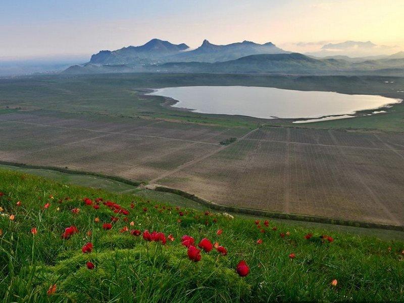 Коктебельская долина. Вид с горы Клементьева