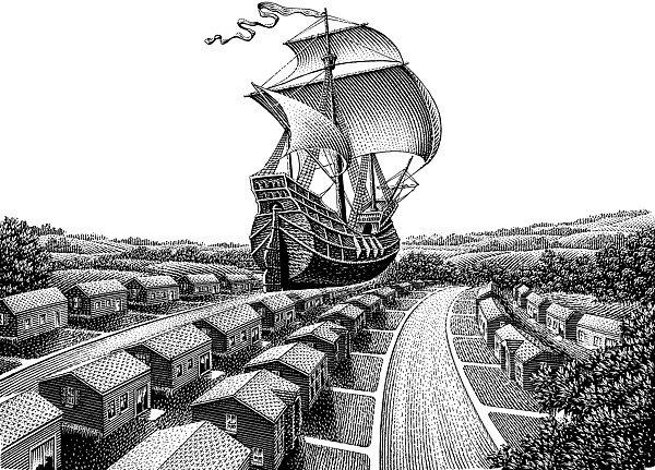 Концептуальные иллюстрации Майкла Халберта, 12 фото