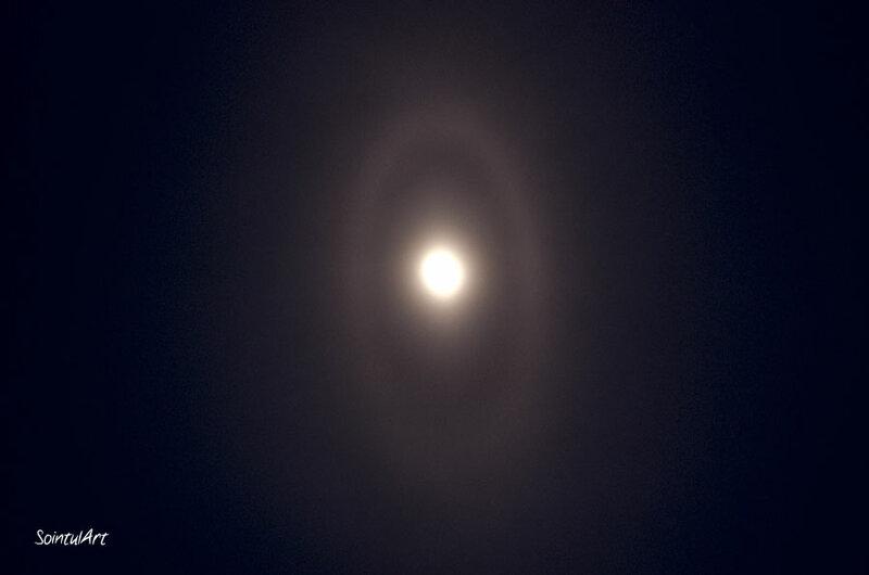 Лунное эллиптическое гало | Всё не просто так