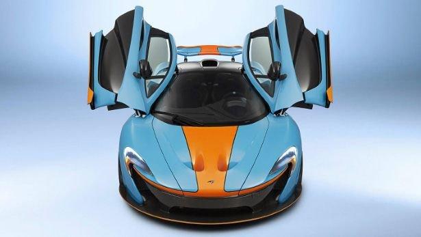 McLaren P1 Gulf