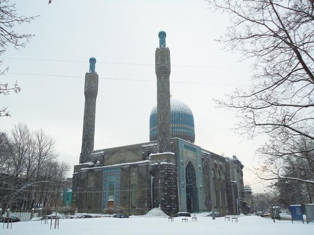 Мечеть.Санкт-Петербург.Фото