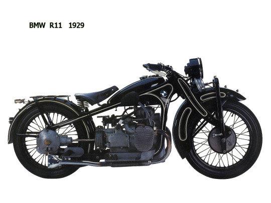 Модель R11 (1929 33 гг.) оснащалась изготовленной из штампованной стали рамой и 745- кубовым двигателем мощностью 18 л.е., что более чем в два раза больше мощности модели R32.