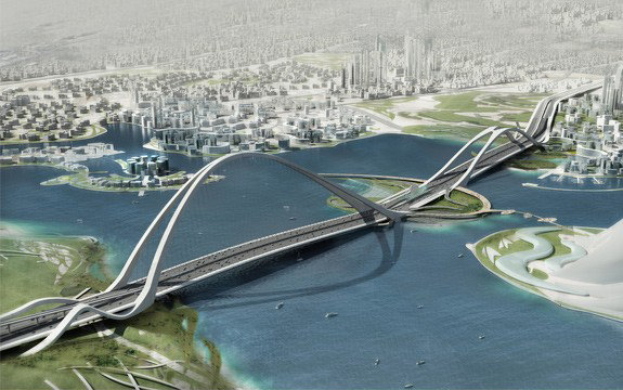 Мост Sheikh Rashid