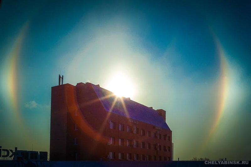 Необычайно редкое, тройное гало над Челябинском — Наука и жизнь