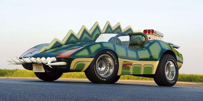 Новости: Corvette-аллигатор из Голливуда